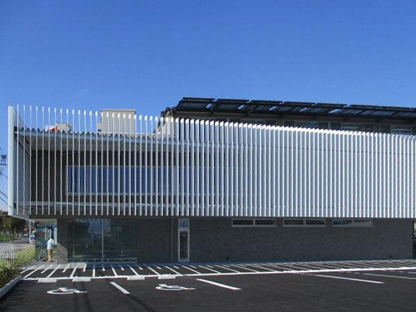 可動ルーバー導入実績:2017奈良県M医院