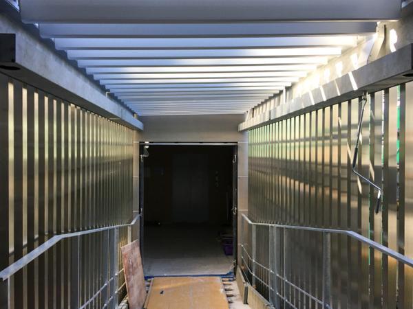 可動ルーバー導入実績:渋谷区神宮前5丁目計画A・B棟新築