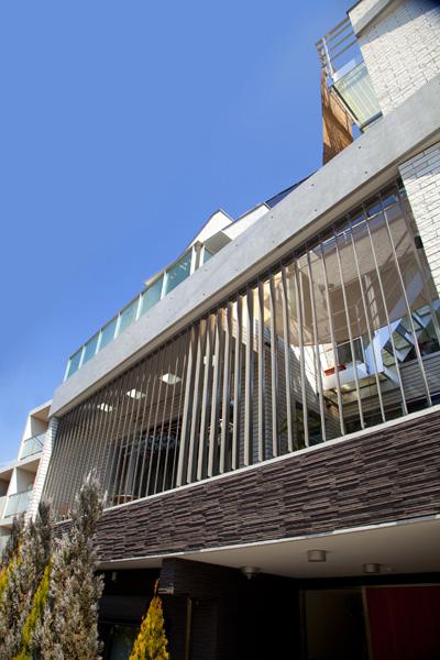 可動ルーバー導入実績:東京都杉並区F邸