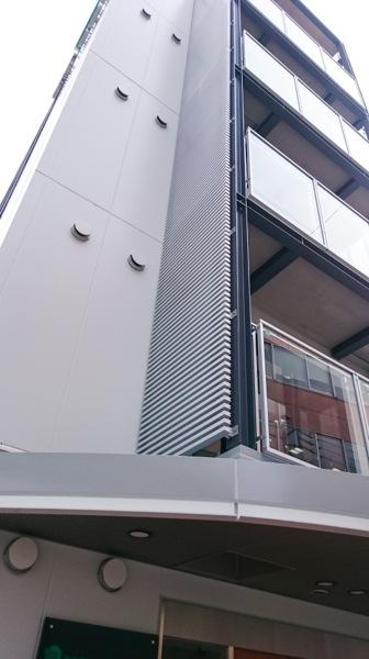 可動ルーバー導入実績:熱田通所リハビリステーション